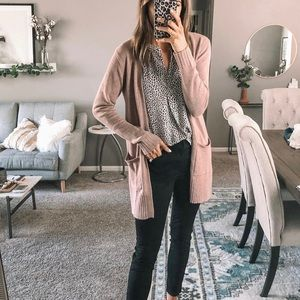 Old Navy open front long line cardi